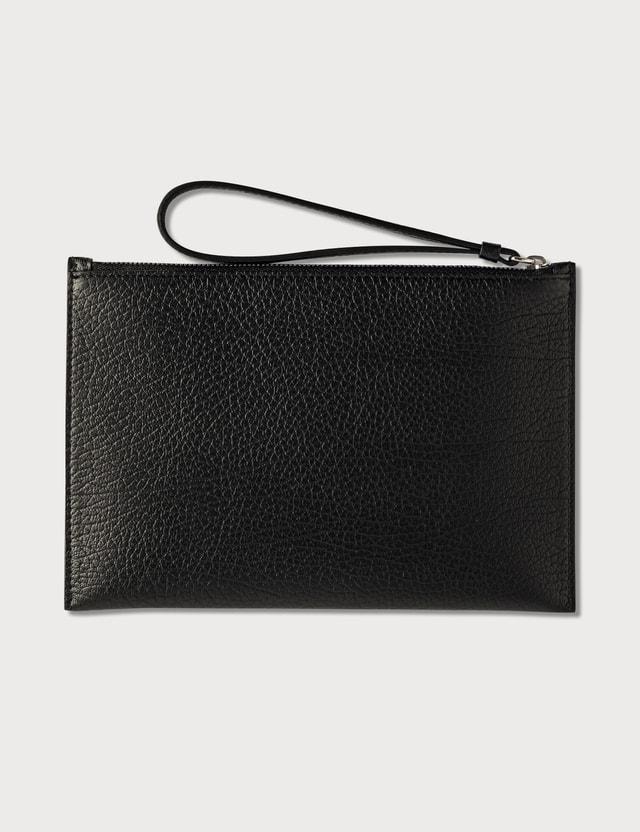 Maison Margiela Grain Leather Flat Pouch