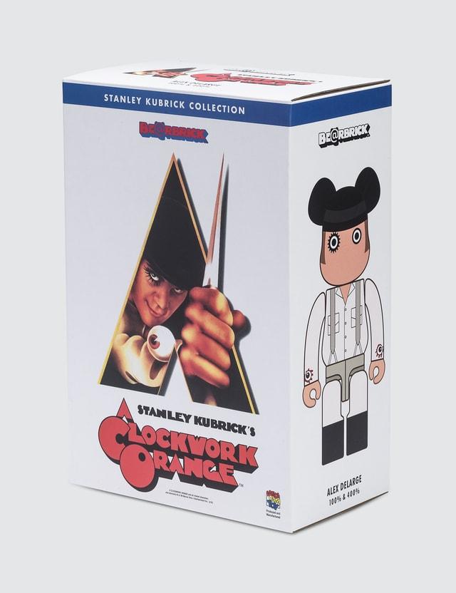 Medicom Toy A Clockwork Orange Alex Be@rbrick 100% + 400% Set