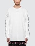 Brain Dead Brain Dead X Sasquatchfabrix. L/S Print T-Shirt Picture