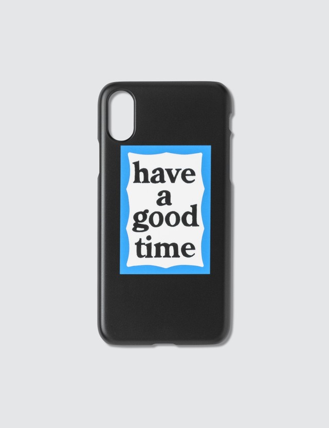 Have A Good Time Blue Frame Iphone Case X/XS