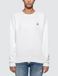 Maison Kitsune Fox Head Patch Sweatshirt Picture
