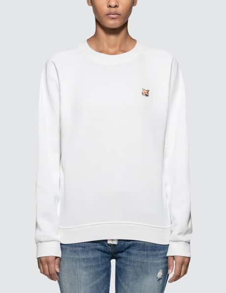 메종 키츠네 Maison Kitsune Fox Head Patch Sweatshirt