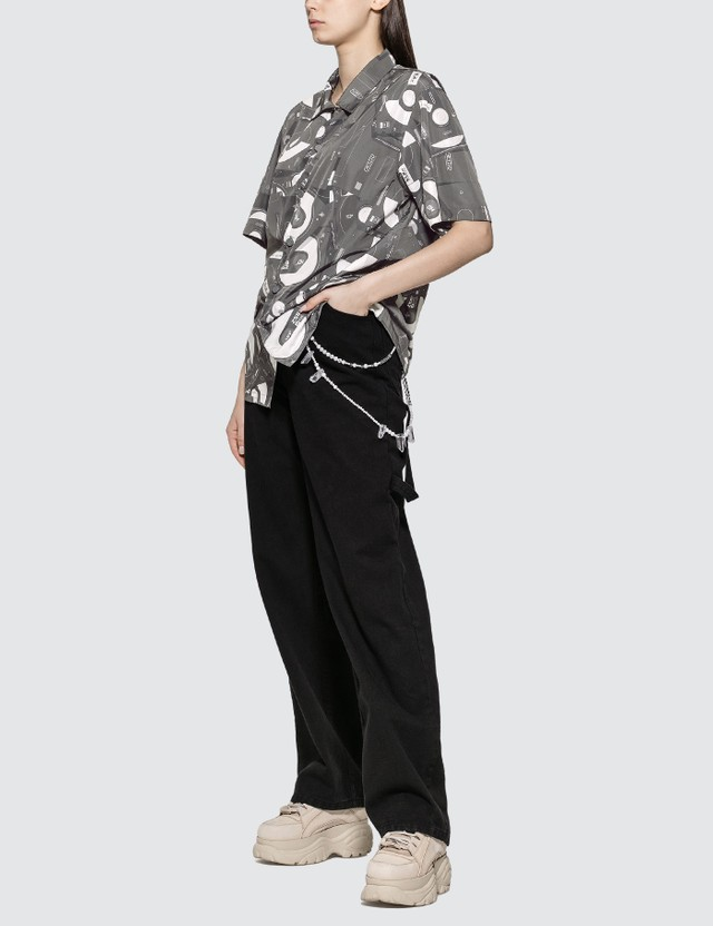 C2H4 Los Angeles Disposed Flashdrive Full Print Short Sleeve Shirt