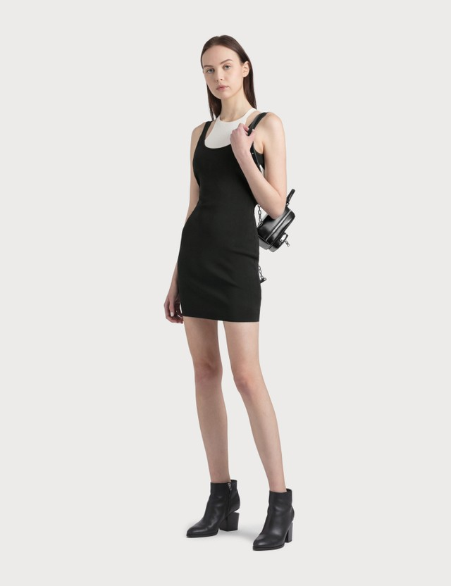 Alexander Wang.T Bodycon Bi-layer Tank Dress