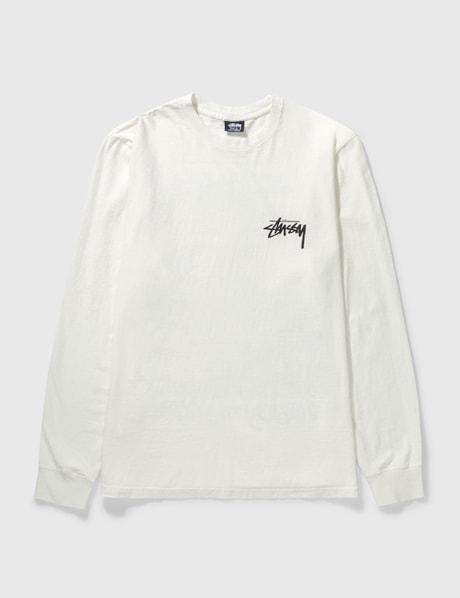 스투시 Stussy Spring Weeds Pig. Dyed Long Sleeve T-shirt