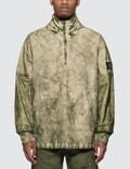 Stone Island Membrana Oxford 3L Half Zip Anorak Jacket Picutre