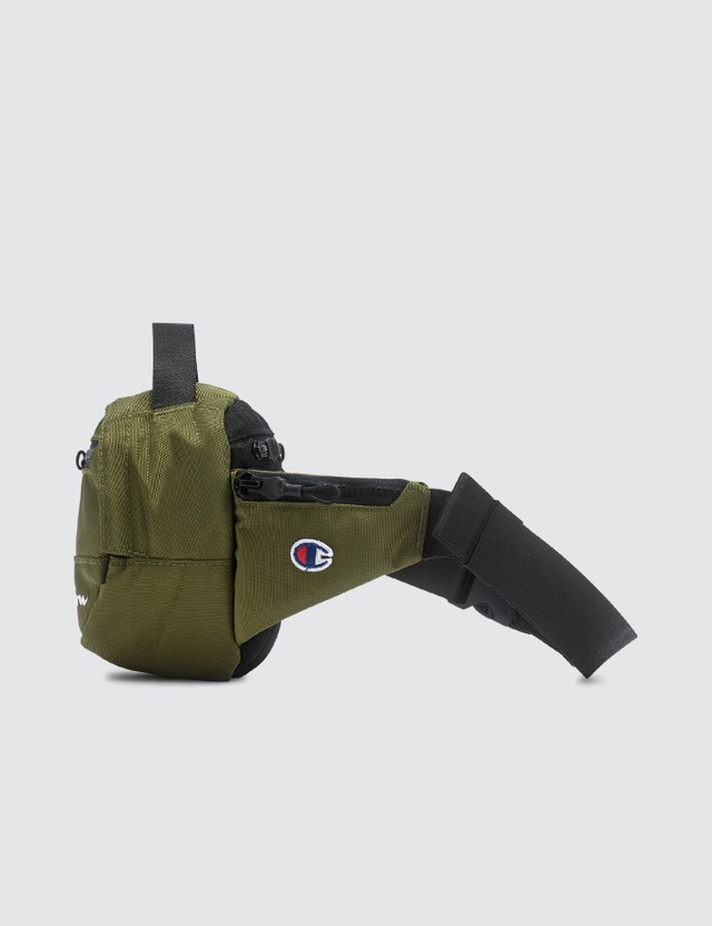Champion Reverse Weave Belt Bag Olive Men