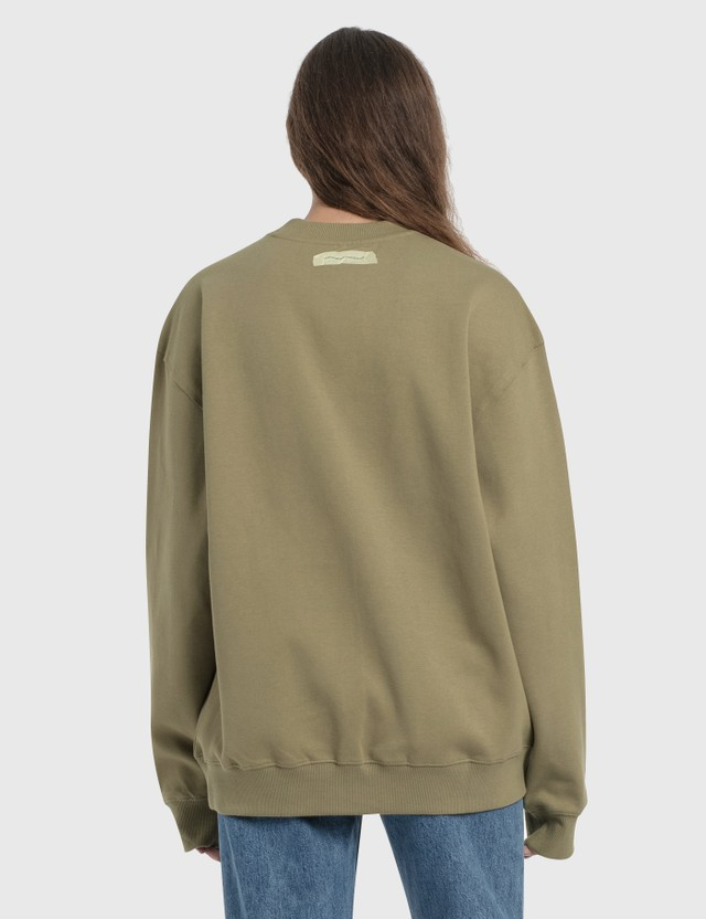 Ader Error Tape Logo Sweatshirt