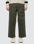 JW Anderson Front Pockets Fold Front Cotton Trousers Picutre