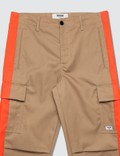 MSGM Cargo Pants With Side Stripes =e24 Men
