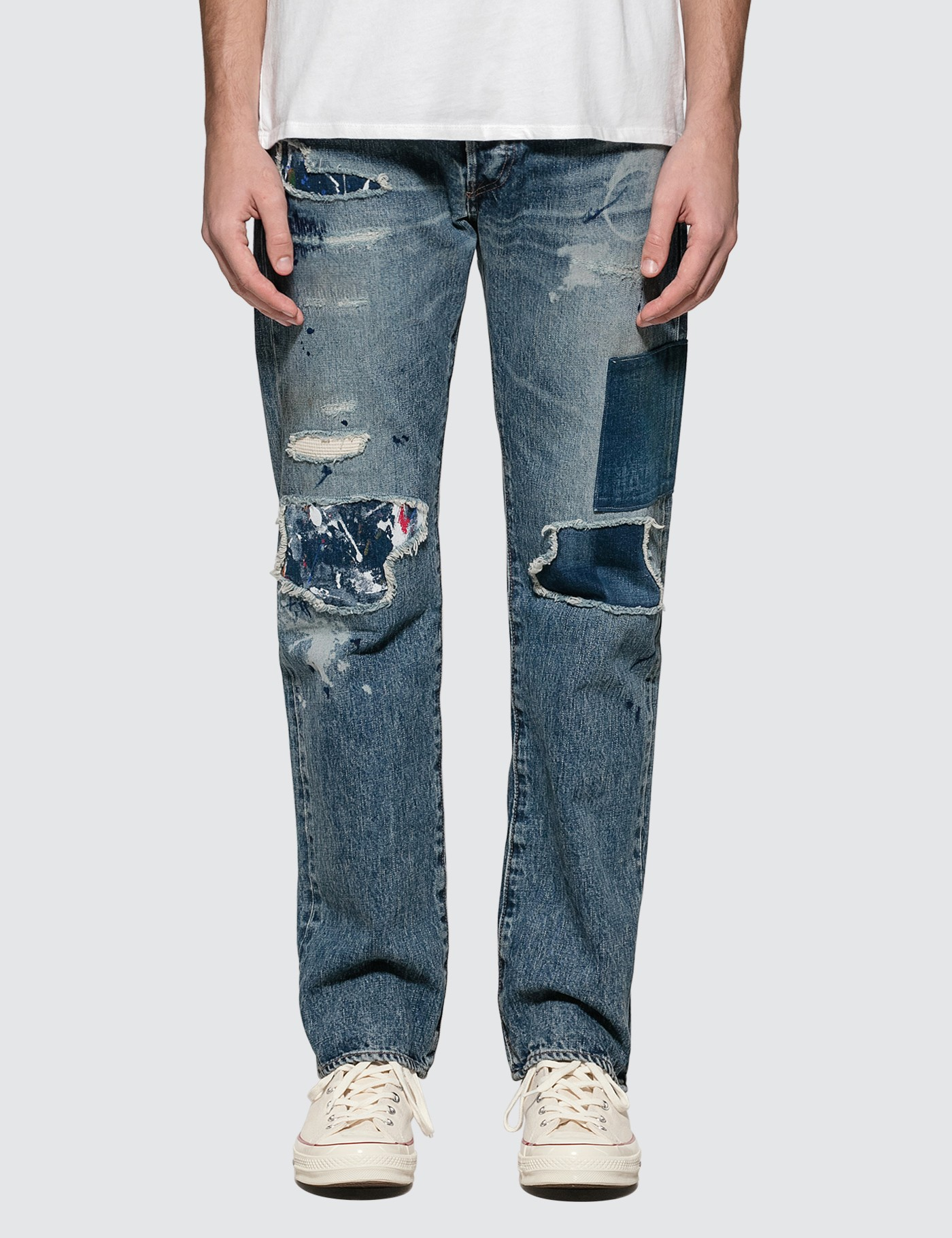 Leviu2019s 501 Original Fit Denim Jeans
