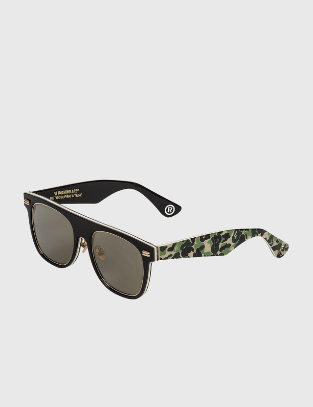BAPE Bape Brsf-001 Sun Glasses Camo/black Archives
