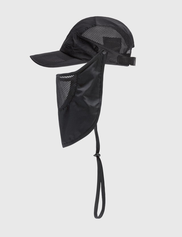Heliot Emil Cap With Front Mask Detail