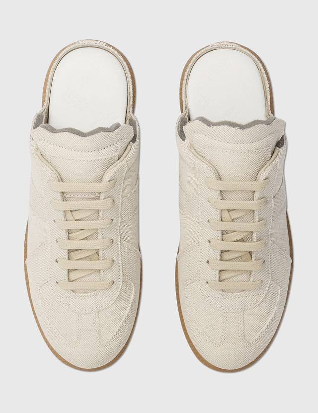 Maison Margiela Replica Sneaker Mule White Sand Women