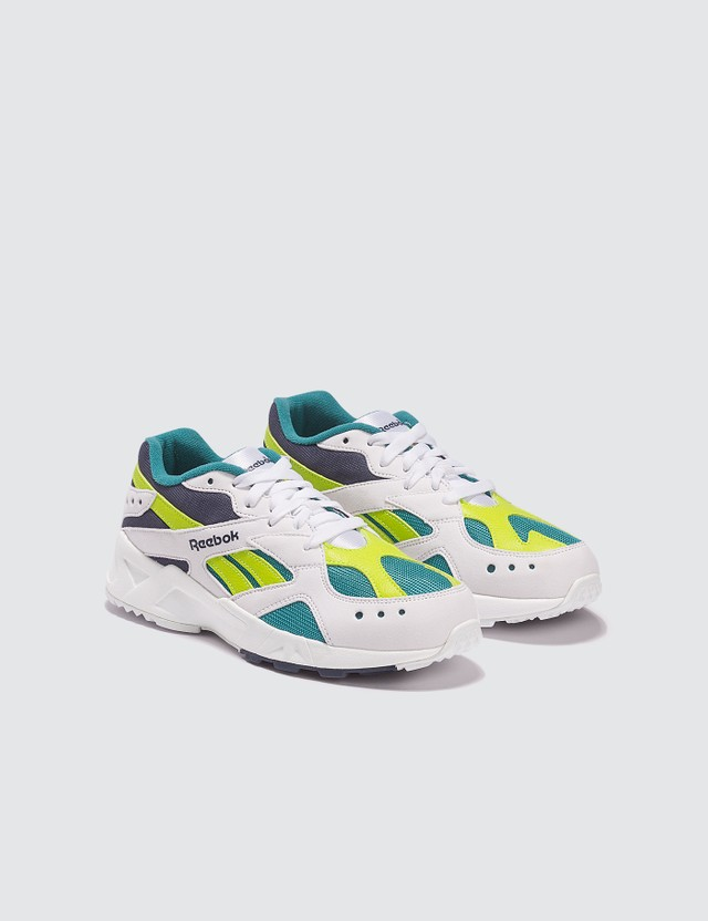 Reebok Aztrek (Kids) White/ Green Kids
