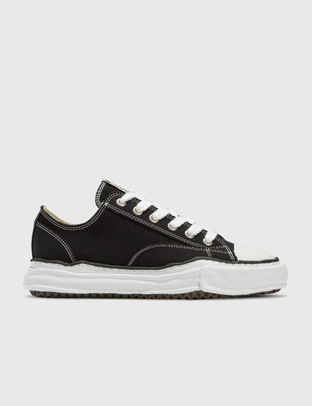 Maison Mihara Yasuhiro Original Sole Canvas Lowcut Sneaker Black Men