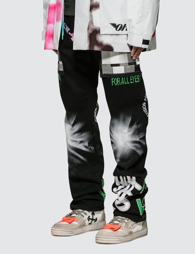 Off-White 5 Pockets Demin Pants