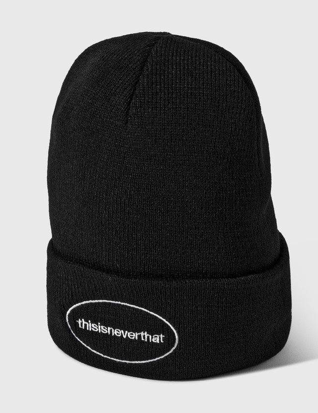 Thisisneverthat E/T-Logo Beanie Black Men