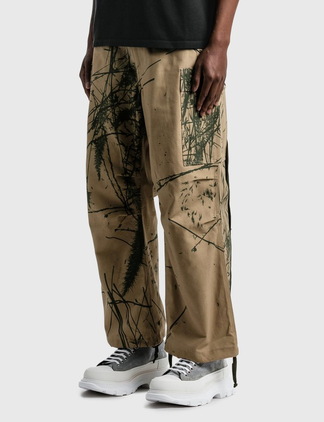 Reese Cooper Brushed Cotton Canvas Cargo Pants Canyon Camo Men