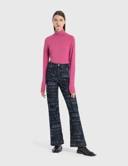 Kirin Typo Laser RD Flare Pants
