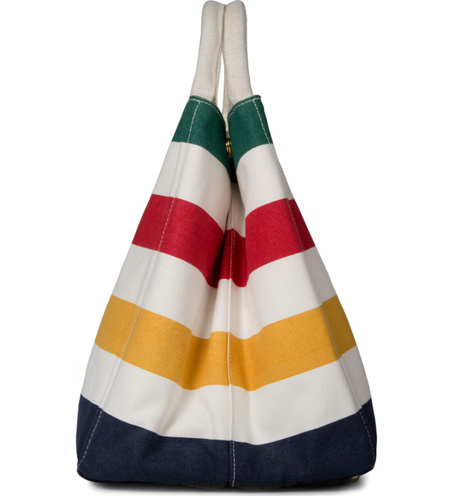 Hudson's Bay Company Multistripe City Tote Bag