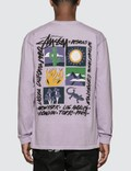 Stussy High Desert Pigment Dyed Long Sleeve T-Shirt Picture