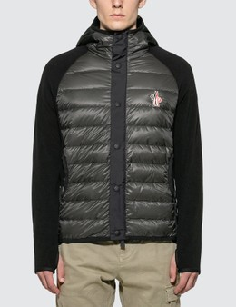 Moncler Grenoble Down Panel Fleece Jacket