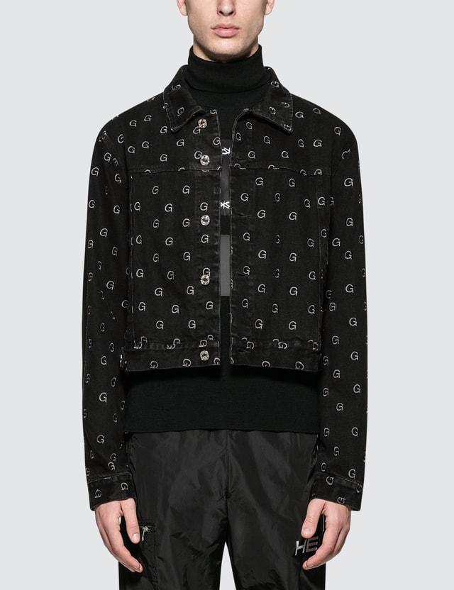 GEO Monogram Denim Jacket