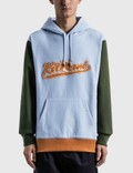 Maison Kitsune Varsity Fox Colorblock Regular Hoodie Picture