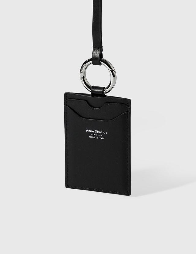 Acne Studios Keychain Cardholder Black Men