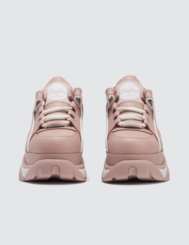 Buffalo London Buffalo Classic Baby Pink Low-top Platform Sneakers Baby Pink Women