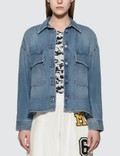 MM6 Maison Margiela Oversized Denim Jacket Picture