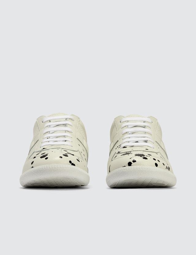 Maison Margiela Pollock Grainy Leather Sneaker