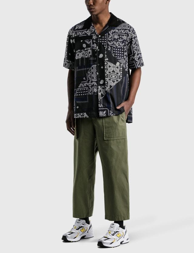 Sacai Hank Willis Thomas Archive E Print Mix Shirt Black Navy Multi Men