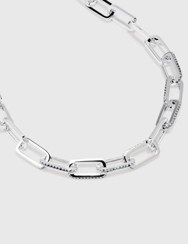 F+H Dylan Gemstone Link Necklace