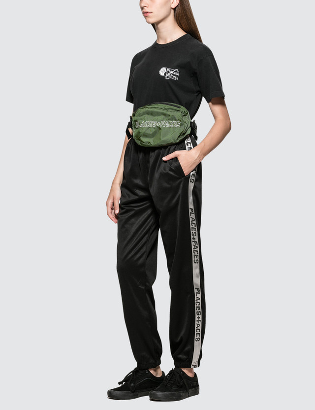Places + Faces Striped Sweatpants