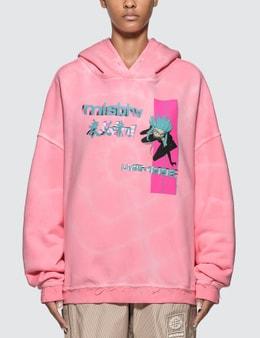 Misbhv Anime Tie Dye Hoodie
