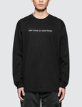 "Denim By Vanquish & Fragment ""Daily Doose Of Good Things"" L/S T-Shirt Picture"
