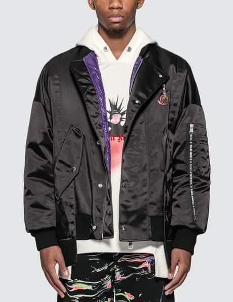 몽클레어 Moncler Genius x 팜 엔젤스 Palm Angels Down Bomber Jacket