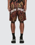 Palm Angels Tiger Mesh Shorts Picture