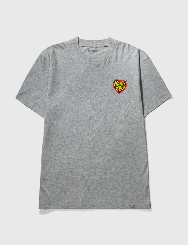 Carhartt Work In Progress Hartt Of Soul T-shirt Grey Heather Men