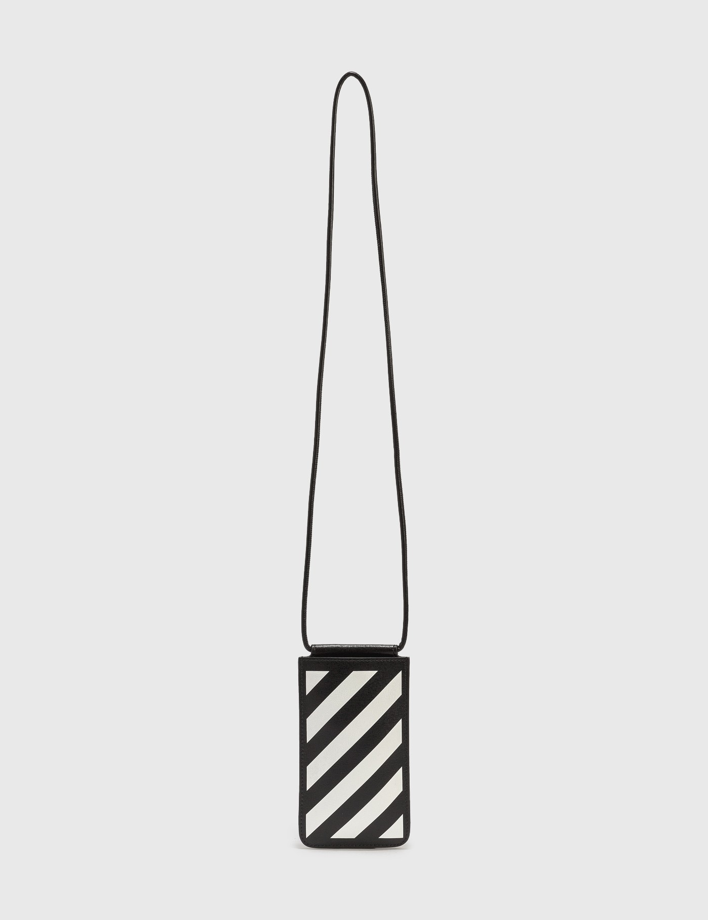Off-White DIAG SAFFIANO NECK POUCH