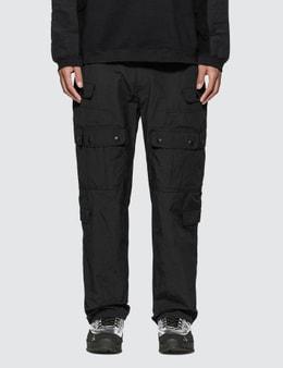 White Mountaineering Multi Pocket Parachute Pants