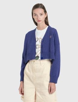 Loewe Anagram Cropped Cardigan