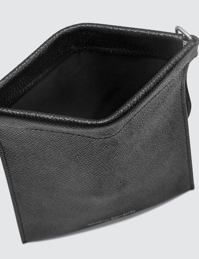 Maison Margiela Grainy Leather Document Holder