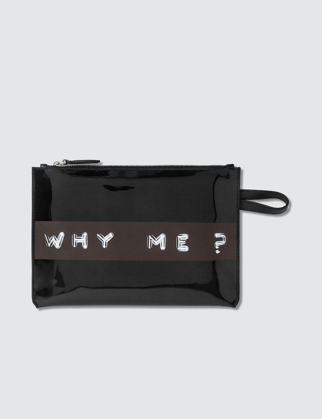 "Burberry ""Why Me?"" Cosmetic Pouch"