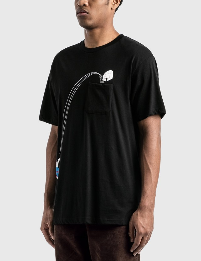 RIPNDIP Hoops Pocket T-Shirt Black Men