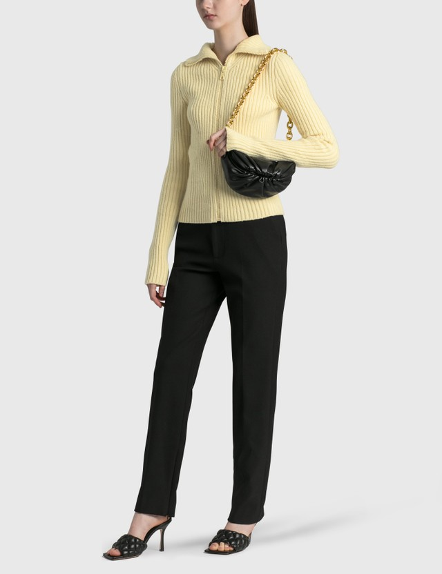 Bottega Veneta The Belt Chain Pouch Black-gold Women