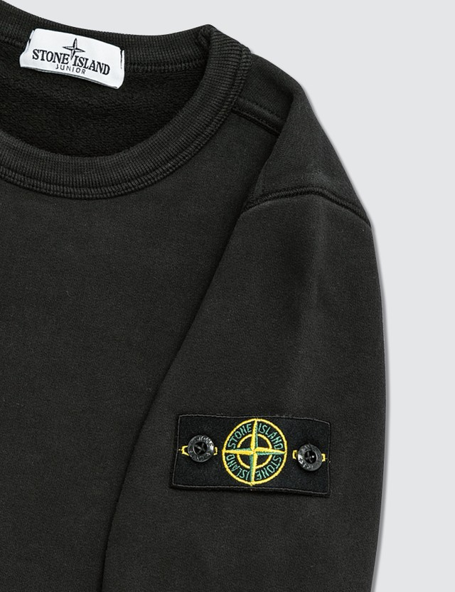 Stone Island Compass Logo Patch Sweatshirt (Kids)