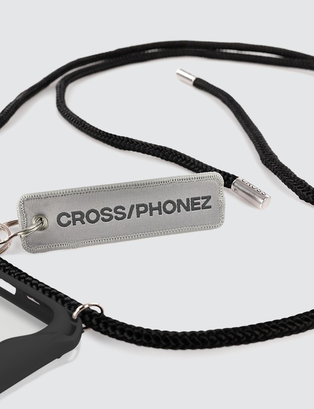 CROSS/PHONEZ Crossphone Black Rope iPhone Case